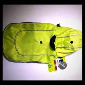 Top Paw Apparel Reflective Pet Dog Rain Coat XS
